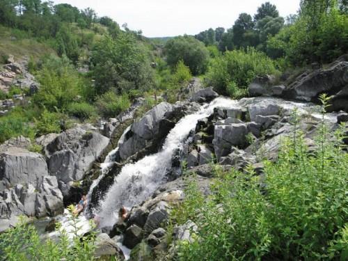 Каньйон річки Рось в селищі Стеблів Корсунь-Шевченківського району