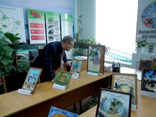 Екологічна виставка картин  «Перетворимо відходи у мистецтво»