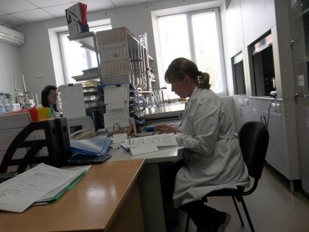 лабораторія дослідження якості продукції